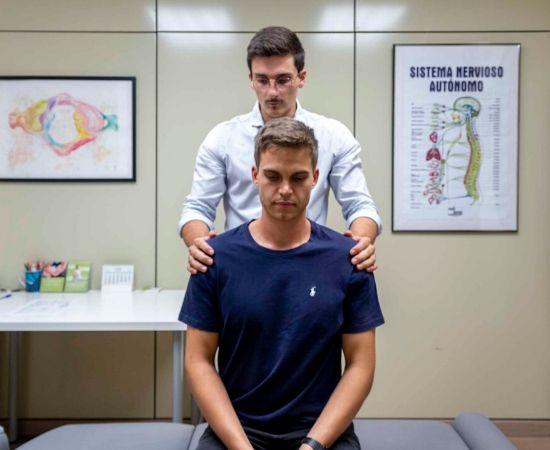 examen postura primera visita quiropráctica
