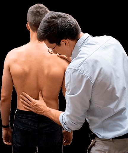 Examen columna vertebral
